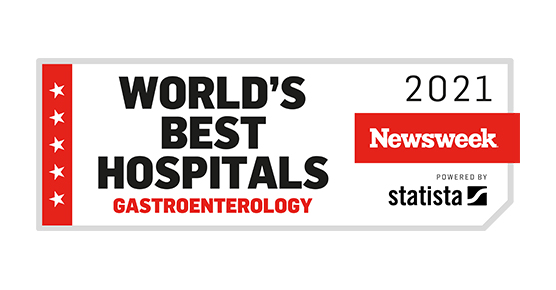 Newsweek world best hospital gastroenterology 2021
