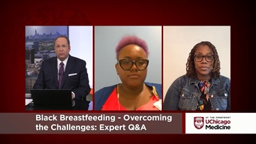 Karie Stewart, APN, MSN, MPH, CNM, and patient care manager Christina A. Billy, BSN, RNC-NIC, discuss Black breastfeeding in live Q&A