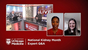 At the Forefront Live: National Kidney Month Expert Q&A