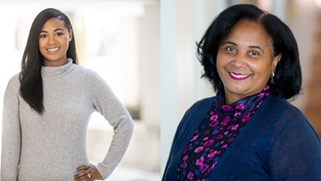 Dr. Anita Blanchard and Dr. Alanna Burnett Stinson