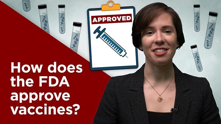 How does the FDA approve vaccines?