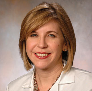 Pediatric oncologist Tara Henderson, MD