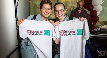 Two UChicago Medicine nurses celebrate Magnet recognition