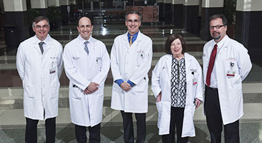 Inflammatory Bowel Disease Senior Faculty at the DCAM hospital building